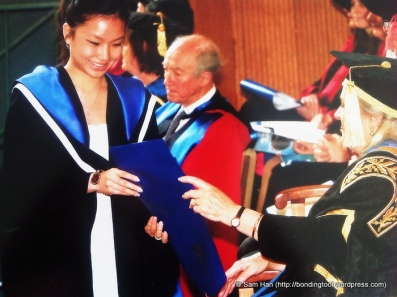 Valerie graduated with honours in Philosophy and made it to the Dean's List – 21st December 2011. University of Melbourne. Australia.