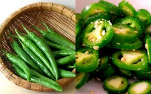 Green Chillies. Photo credit: Google Images.