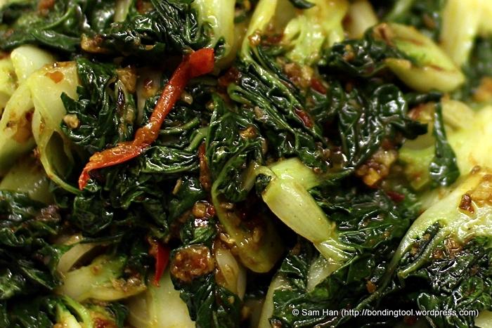 This Sambal Nai Bai 三岜奶白 vegetable dish costs us S$12.00