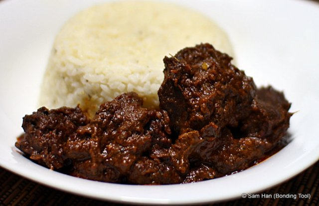 Rendang and Rice©BondingTool
