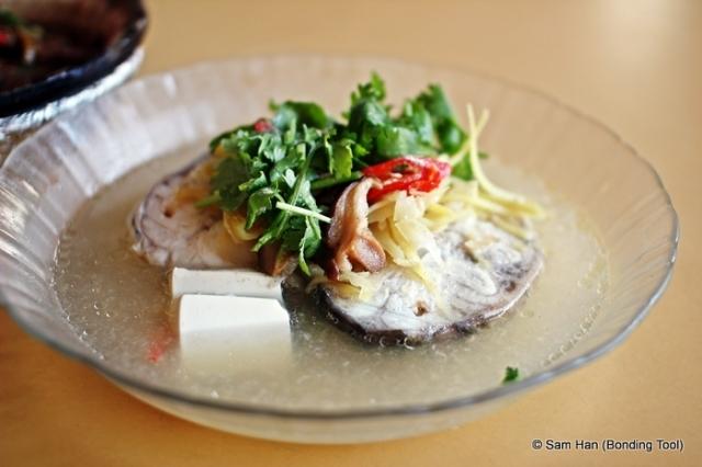 Steamed fish - Teochew style  (潮式蒸马鲅魚)
