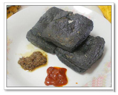 The infamous Stinky Tofu.