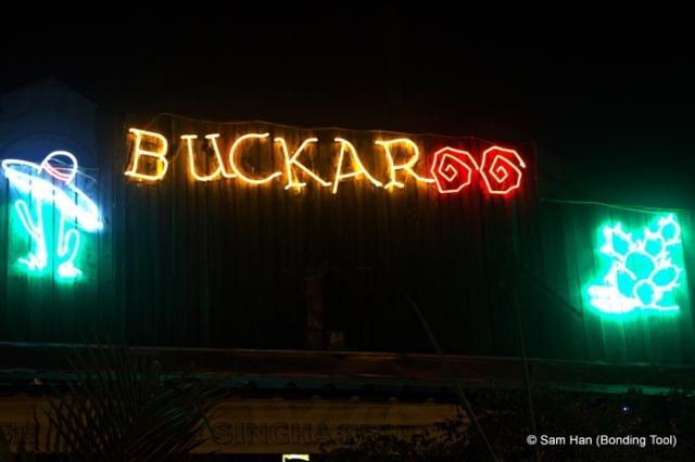 Buckaroo is always bucking up!