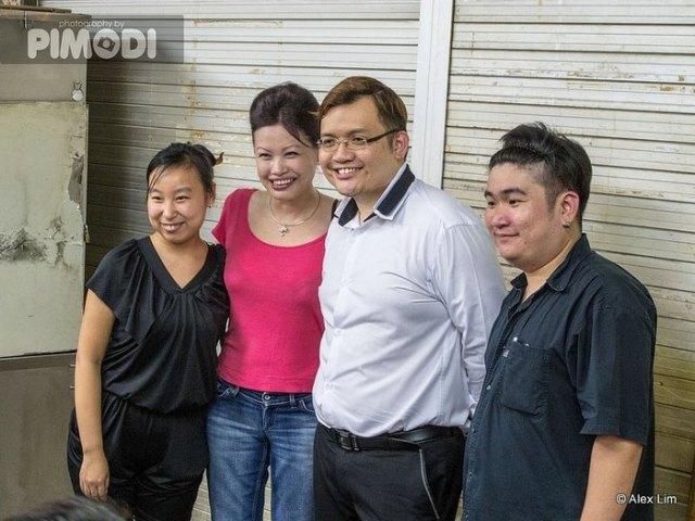 Wu Ting Ting, Sam Han. Calvin Huang & Adrian Aw Yong.
