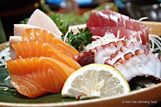 Yufu Sashimi (4 kinds).