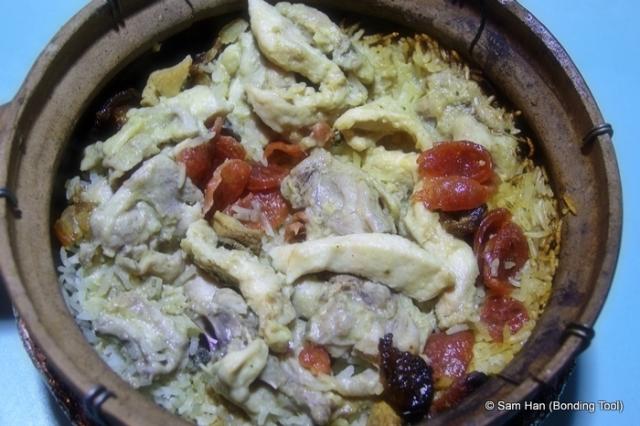 Claypot Chicken Rice 砂煲鸡饭