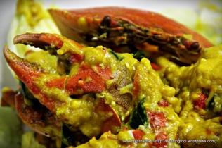 salted yolk crabs