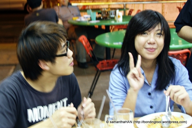 Jeslin Tan our lovely co-organiser.