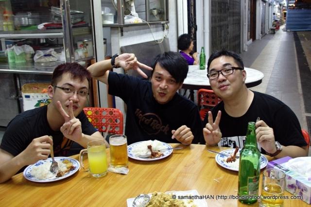 Benjamin GX Lin, Seow Hong and Wilson Wong.