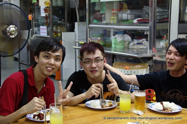 Anthony Lim, Benjamin GX Lin and Seow Hong.