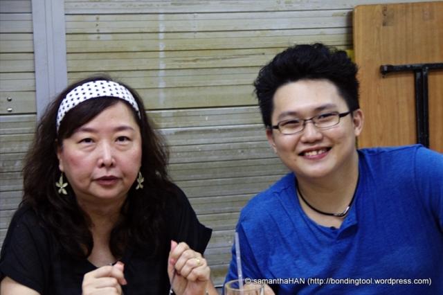 Su Suling and Klavier Tan.
