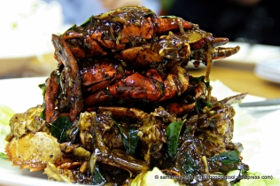 black pepper crabs