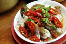 Ever tried fish head in single portion size?