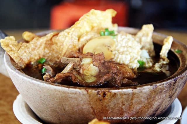 Bah Kut Teh - pork ribs in strong herbal brew.