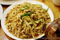 Stir-fried Dried Beancurd with Green Peppers - S$10.