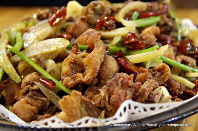 Spicy Chicken - S$18.