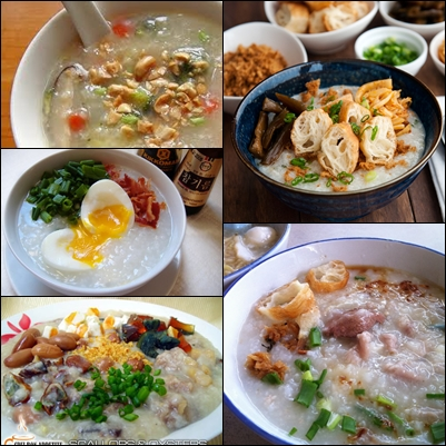 Congee with secondary ingredients. Photo credit: Google Images