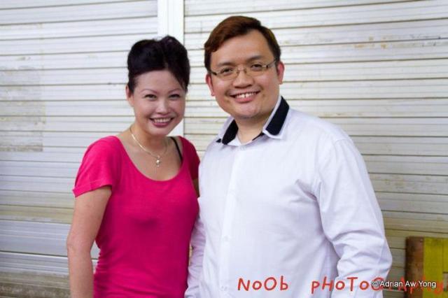 Sam and Calvin Huang.