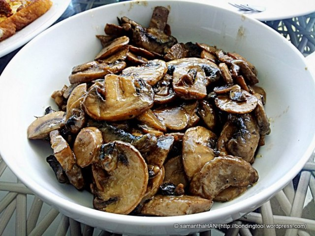 Sautéed mushrooms for breakfast or even as a side for lunch and dinner.