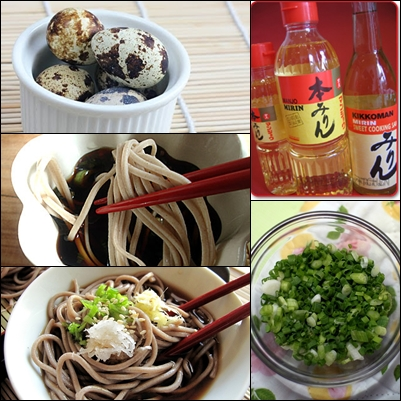 Photo credit: Google Images. Some of the soba ingredients.