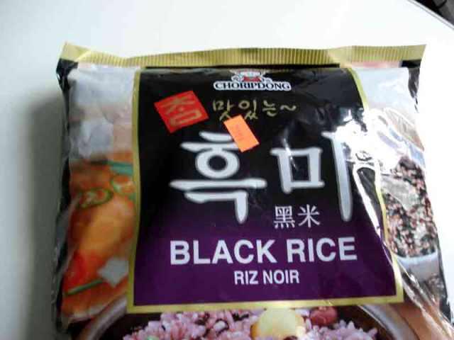 Black Sweet Rice. Photo credit: Googe Images.