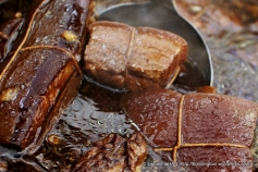 The meat has to be marinated in advance at least 4 hours ahead, preferably overnight.