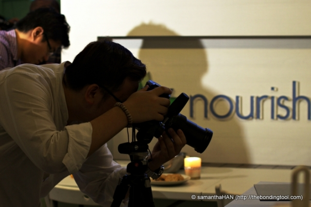 Filiming and interview was done at Nourish Kitchen in 63B Boat Quay, Singapore.