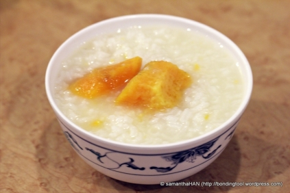 Sweet Potato Porridge - bottomless refill.
