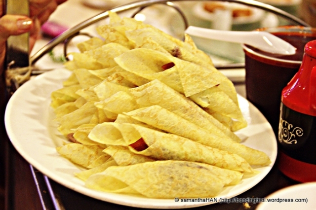 Egg crepe wrappers with...