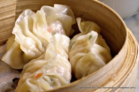 Pork and Prawn dim sum.