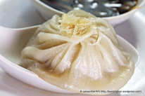 Sharksfin Xiao Long Bao – regular XLB with a few strands of sharksfin and the price shot up!
