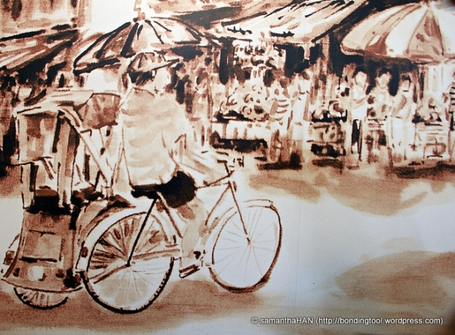 Liang Seah Street in old days.