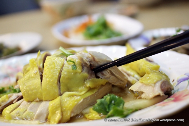 If you haven't tried Chicken Rice, it's time you do :)
