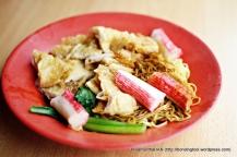Meng's order - Yong Tau Foo Noodles. S$3.
