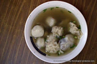 An extra order of Foo Chow Fishballs and Rou Yan Soup.