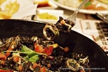 Squid Ink Paella.