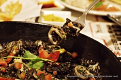Squid Ink Paella.