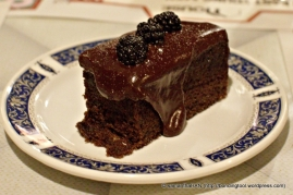 Caramel Toffee Chocolate Cake