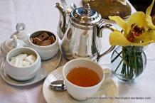 Elegant High Tea at Brasserie Les Saveurs St. Regis Hotel, Singapore.