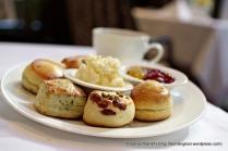 Devon Scones and Cornwall Clotted Cream.