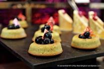 Mini Fruit Cakes.