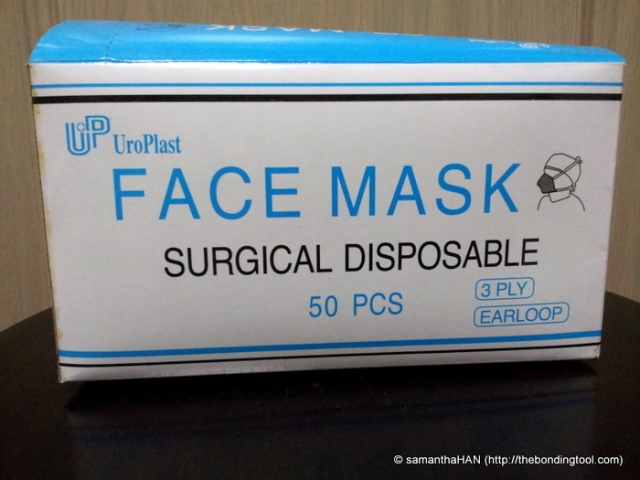 Face masks are running out of stock islandwide.