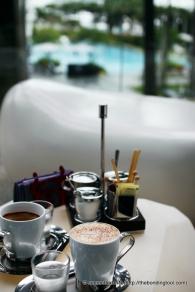 Coffee break.