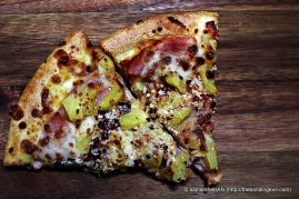 And if making a sandwich is too much on a weekend, order in a Pizza and...