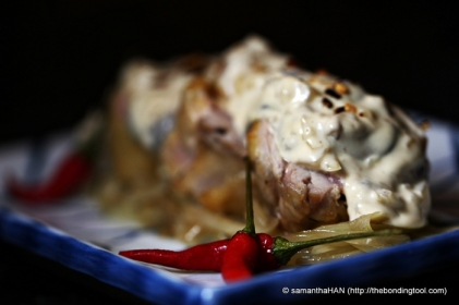 Voila! Chicken Roulade by Sam Poh.