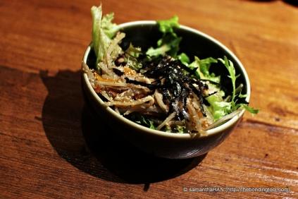 Seaweed salad.