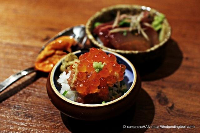 Sashimi Rice.