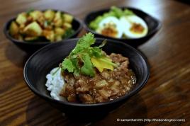 Stewed Pork Belly Rice.