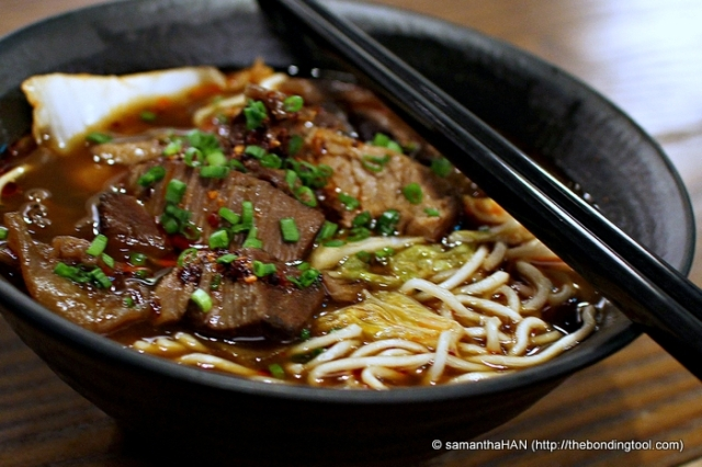 Beef Noodles (牛肉麵) typically consists of either brisket or shank is considered a national dish in Taiwan.
