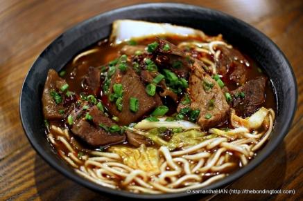 Braised Beef Noodles.